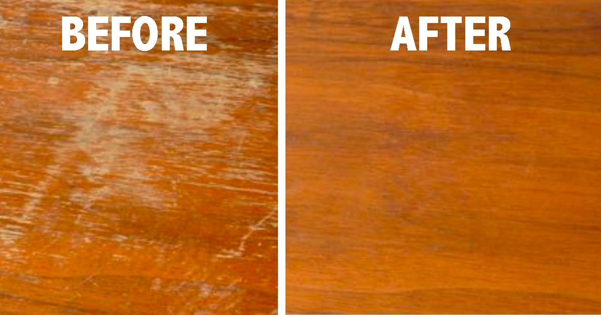 Remove Scratches From Wood Furniture
