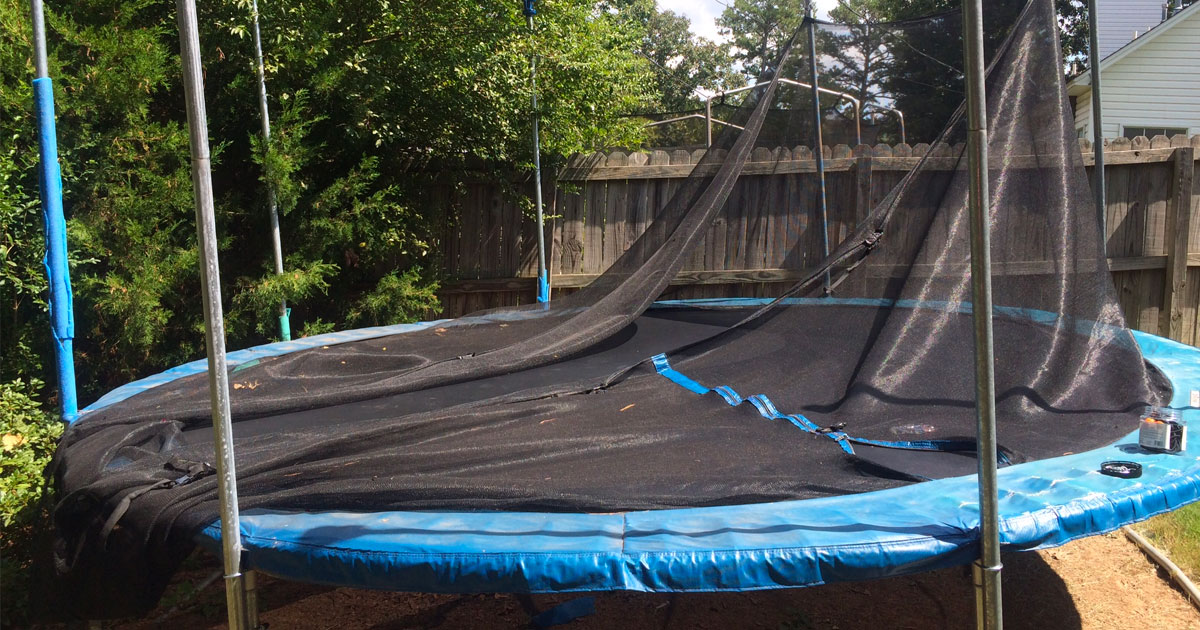 upcycling 10 ways to transform a trampoline  rh   homehacks co